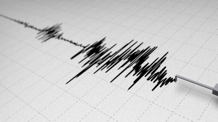 В Тихом океане к югу от Японии произошло мощное землетрясение