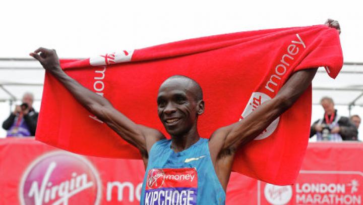 Кениец Кипчоге установил новый рекорд в марафоне, но он не будет засчитан