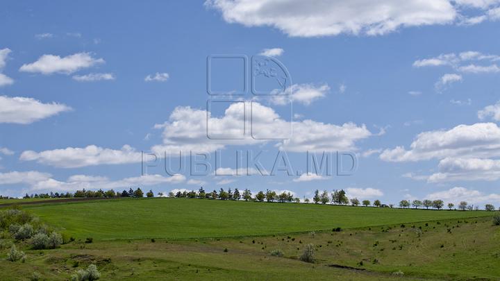 Сегодня в Молдове переменная облачность, местами кратковременные дожди