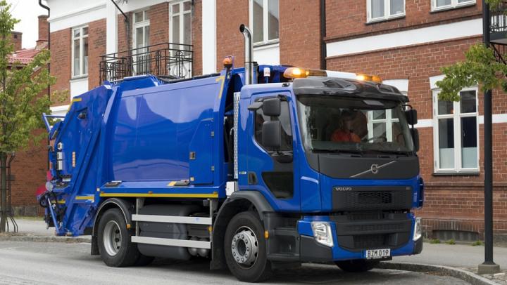 Volvo начинает испытания беспилотного мусоровоза