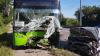 В Харькове легковушка протаранила троллейбус