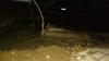 На Чеканах прорвало трубу, вода затопила часть улицы Милеску Спэтару