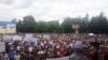 30 тысяч человек приняли участие в митингах в поддержку смешанной избирательной системы