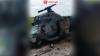 Появились первые фотографии с места крушения вертолёта Ми-2 на Ставрополье
