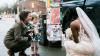 Девочка приняла невесту за принцессу из своей любимой книги