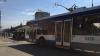 Из-за отсутствия электричества на Ботанике остановились троллейбусы, светофоры не работают
