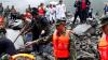 В Китае оползень накрыл несколько десятков жилых домов, более 140 человек пропали без вести