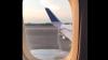 Пассажирский самолет с бьющим из бака фонтаном топлива сняли на видео