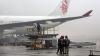 Проливные дожди нарушили работу аэропортов Шанхая