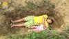 Отец помогает больной дочери привыкнуть к могиле (18+)