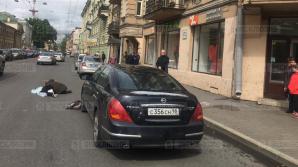 Жуткая смерть студентки под колесами авто в Петербурге попала в объективы камер