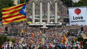 Тысячи каталонцев потребовали проведения референдума о независимости региона