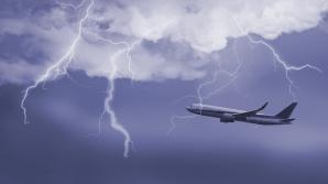 Самолет вернулся в Стамбул после удара молнии
