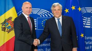 Андриан Канду и Павел Филип встретились с председателем Европарламента