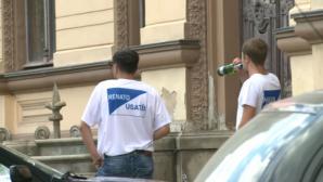 В протесте оппозиционных партий участвовали люди, которым заплатили по 100 леев