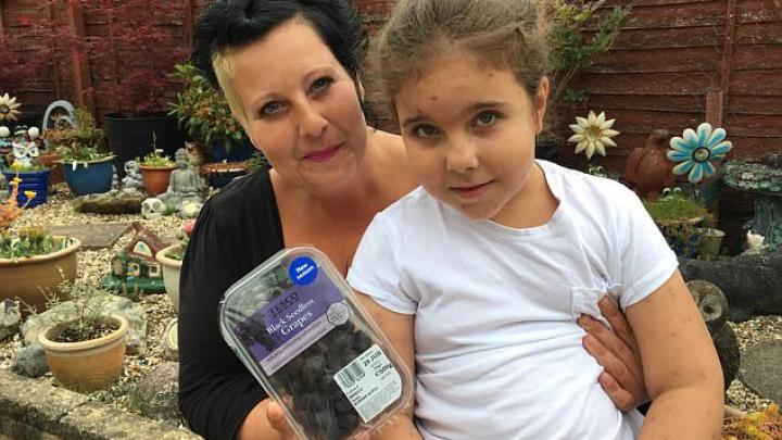 Мать купила дочери упаковку винограда, в которой нашла одного из самых опасных в мире пауков