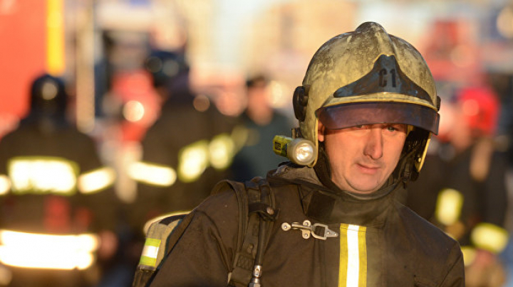 В Москве загорелся психоневрологический интернат