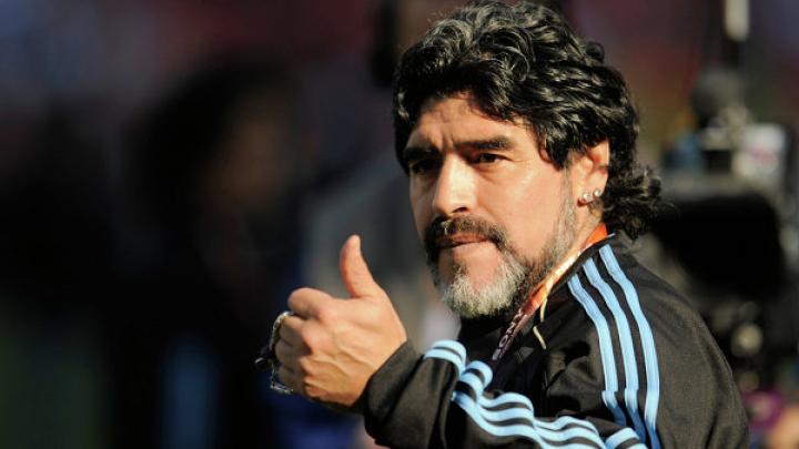 Марадона заявил о желании возглавить сборную РФ по футболу