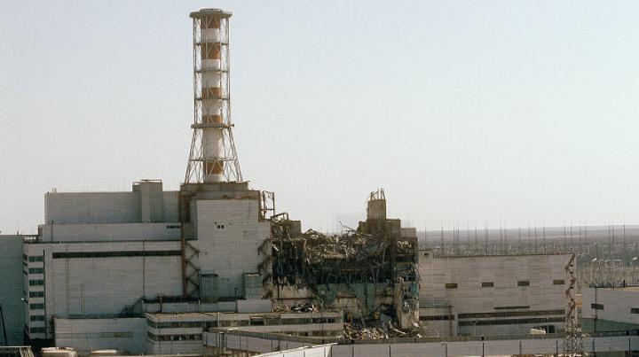 На Чернобыльской АЭС произошло задымление