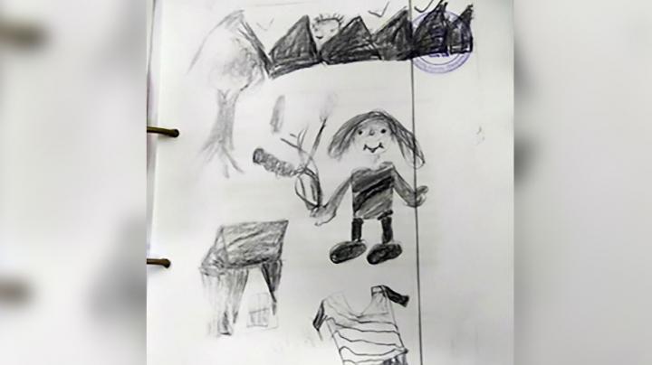 10-летняя девочка посадила в тюрьму своего насильника, нарисовав сцену нападения