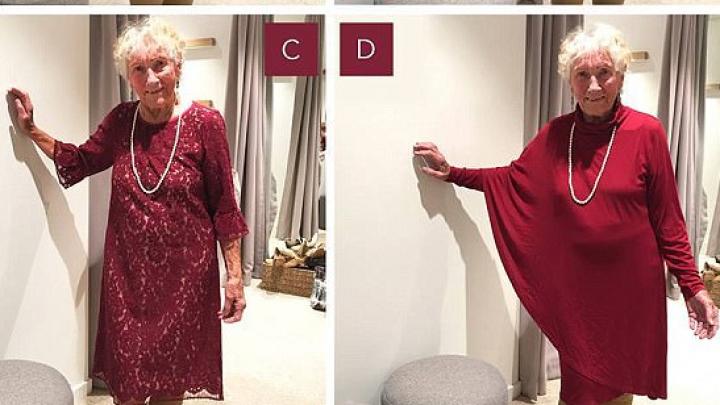 Пользователи Facebook выбирают платье для 93-летней невесты из Австралии