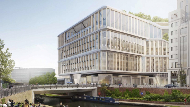 Google показала, как будет выглядеть новая штаб-квартира в Лондоне