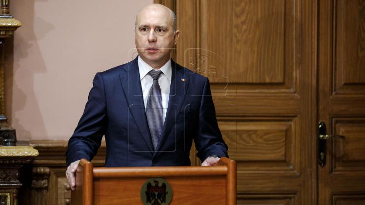 Заявления премьер-министра Павла Филипа на заседании правительства