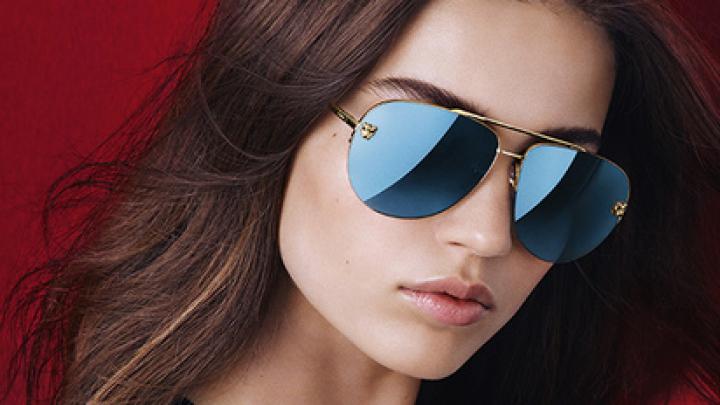 Cartier создал очки с зеркальным эффектом