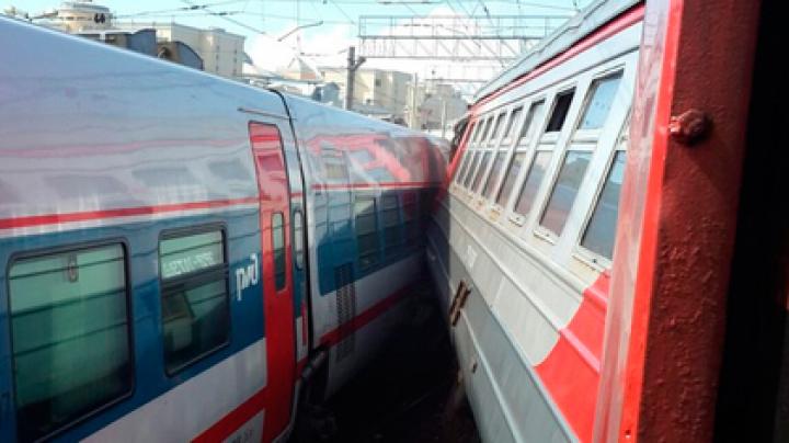 Следователи назвали причину столкновения поездов на Курском вокзале