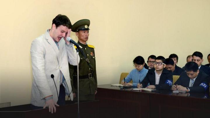 Американский студент умер после 15 месяцев заключения в КНДР