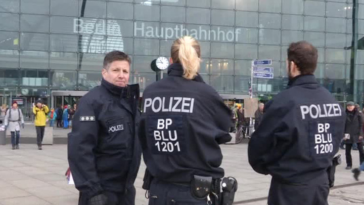На вокзале в Берлине объявлена тревога