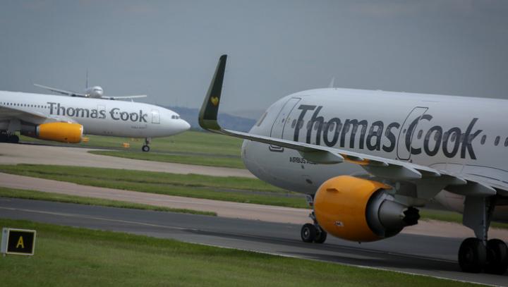 Пассажирский самолет вернулся в Манчестер из-за отломившейся части крыла