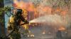 Лесной пожар породил торнадо: видео