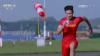 Китайский легкоатлет обогнал истребитель: видео