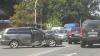 Автомобиль Toyota лишился двери в жёстком ДТП на Рышкановке