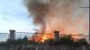 Пожар на Республиканском стадионе обсудили на заседании столичной комиссии по ЧС