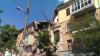 Появилось первое видео с места взрыва в жилом доме в Киеве