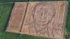 Итальянский художник создал портрет Владимира Путина на поле рядом с Вероной