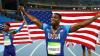 Американский бегун признан невиновным в допинге, попавшем в организм с поцелуем