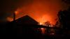 В Новых Аненах загорелся дом из-за взрыва газового баллона: двое пострадавших