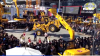 Китайский 17-тонный бульдозер станцевал тверк на двух колесах