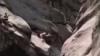 Страшное падение девушки с 25-метровой скалы в Колорадо сняли на видео (18+)