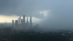 В московской области прошел шторм, каких не бывало почти сто лет