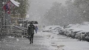В столице Чили прошёл самый сильный снегопад за последние 10 лет