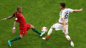 Мексика вышла вперед в матче за третье место Кубка конфедераций