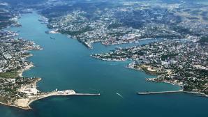 В Чёрном море перевернулось торговое судно
