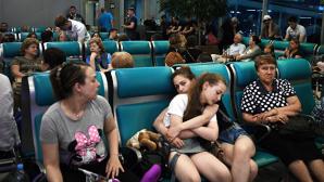 В аэропортах Москвы задерживаются более двухсот рейсов