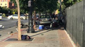 В Солт-Лейк-Сити автомобиль врезался в пешеходов