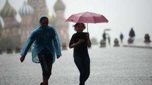 В Москве объявлено экстренное предупреждение из-за грозы, дождя и ветра