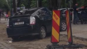 Паркуюсь где хочу: эпичное видео из центра Кишинёва
